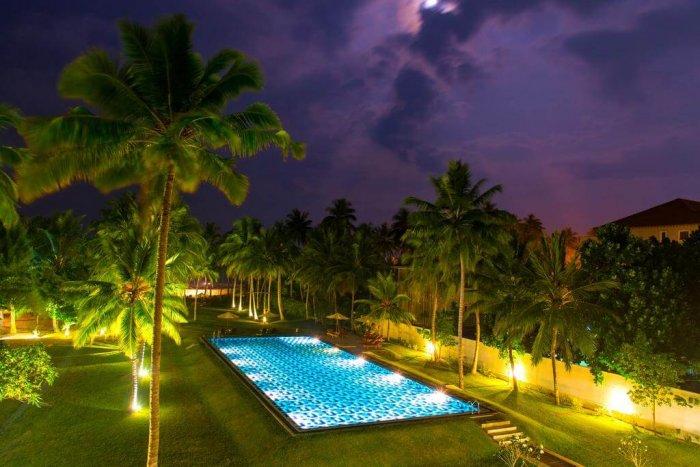 luxury resort of tabrobana