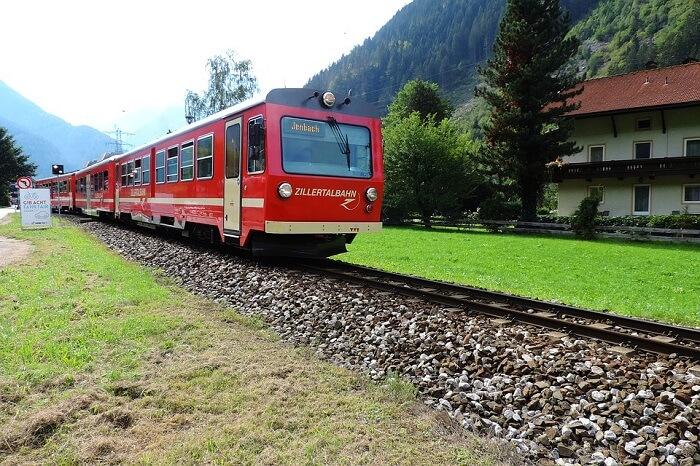 famous train route in Austria