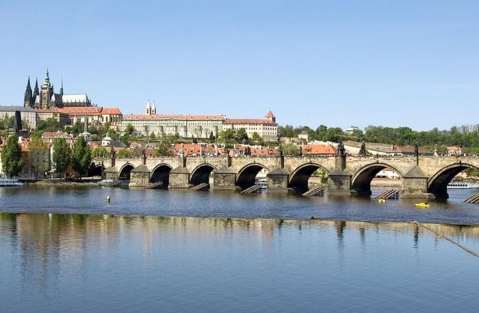 Charles Bridge View