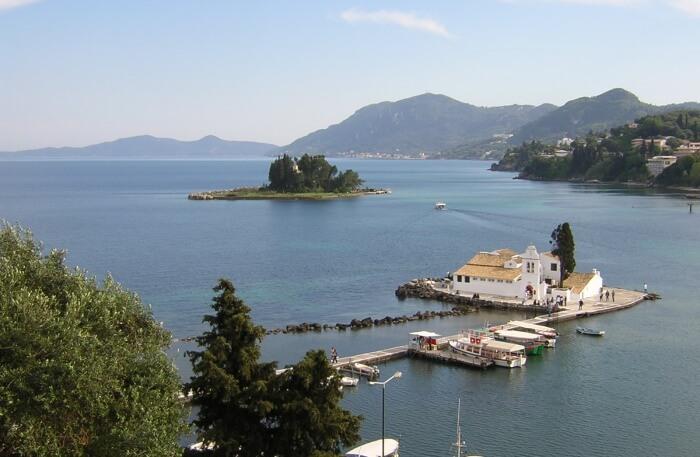 Corfu In Greece