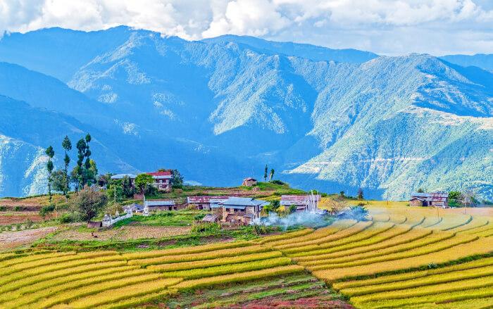 Trashigang in Bhutan