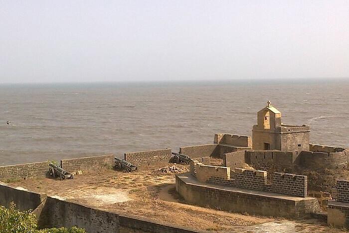 small island in Gujarat