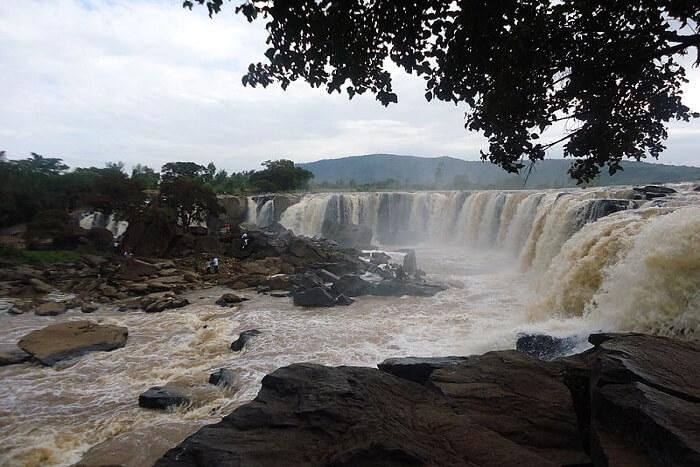 charming waterfalls in Kenya