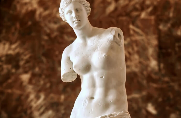 Louvre Museum Statue