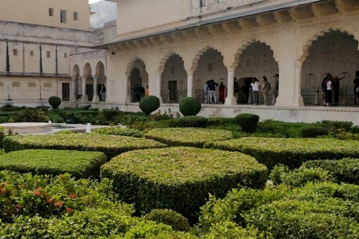 beautiful courtyards and gardens