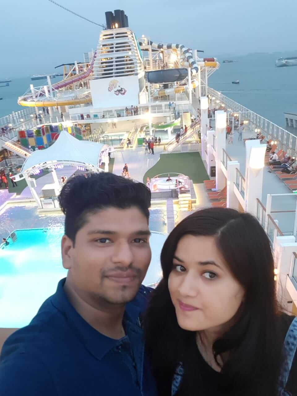 on the cruise