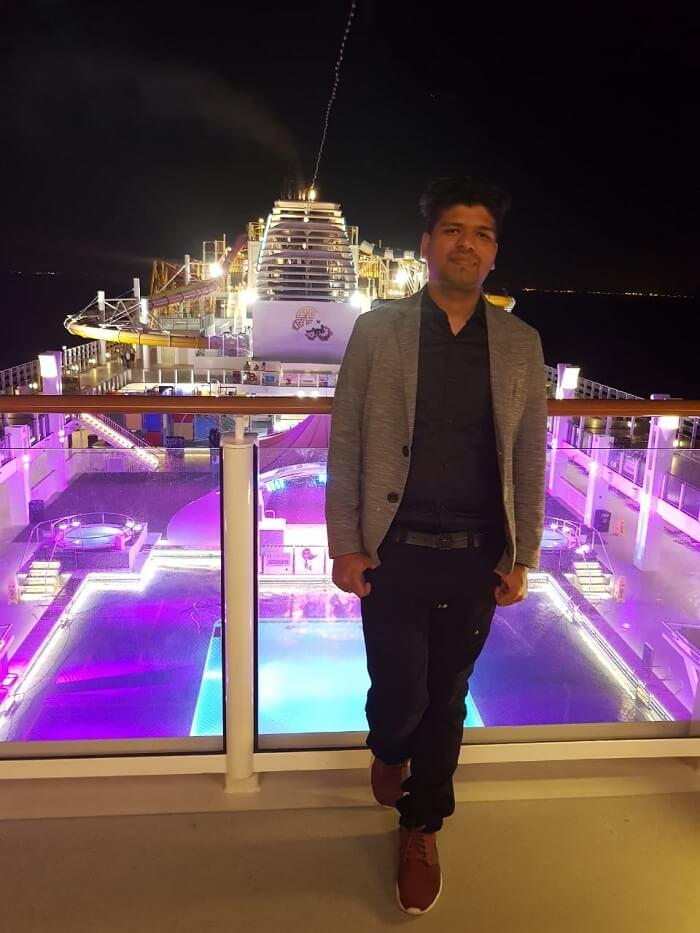 board the cruise for Bintan Island