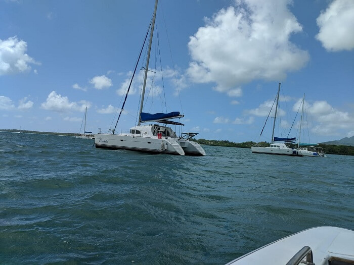 visited to the Ile Aux Cerfs Island