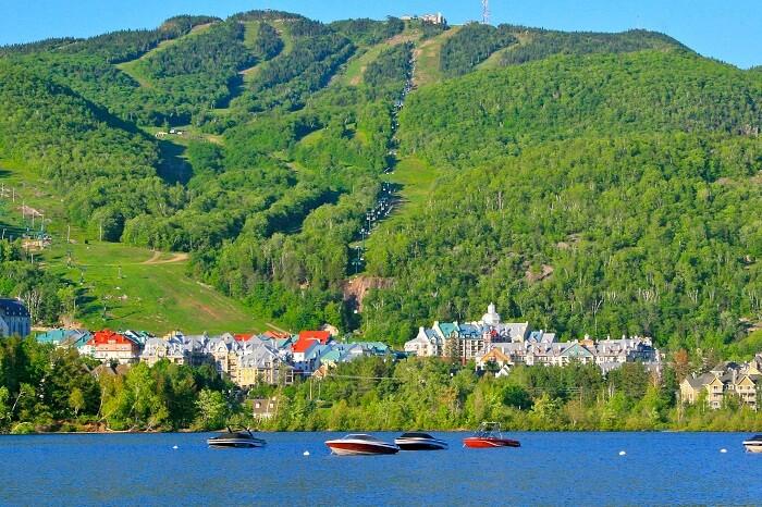 Tremblant City and Lake