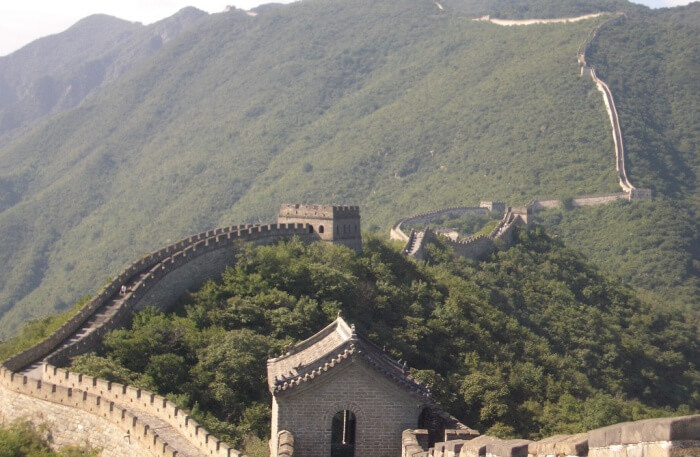 View of Mutianyu in China