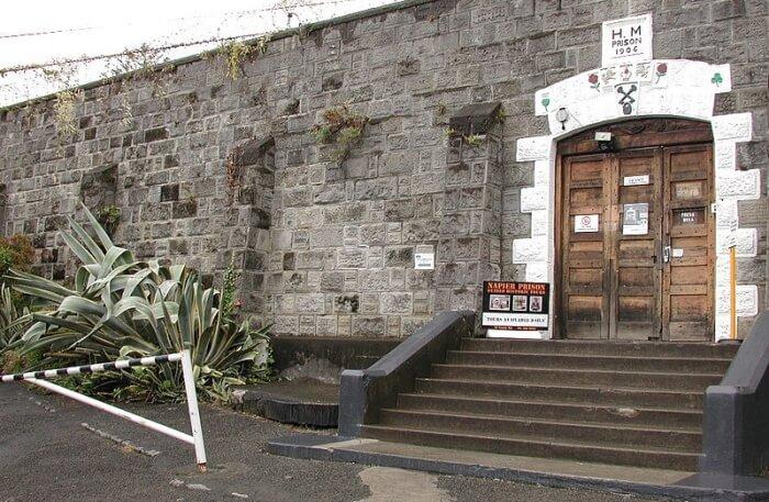 View Of Napier Prison