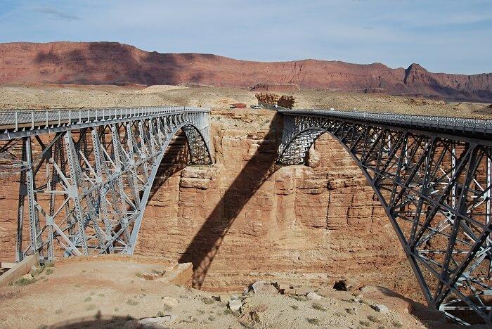 twin navajo bridge usa