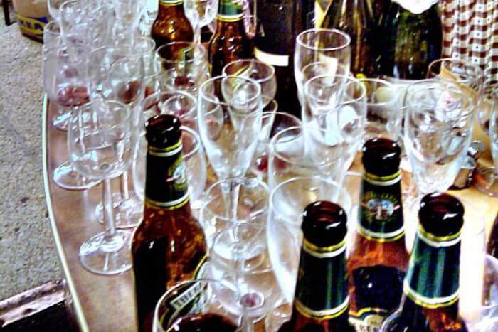 Wine glass View