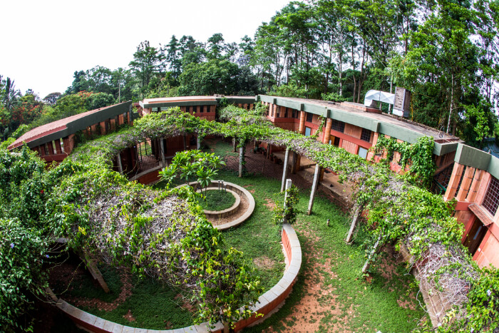 The Courtyard House in Bangalore