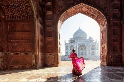 Outstanding Taj Mahal