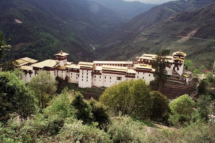 Trashigang Dzong Fortress