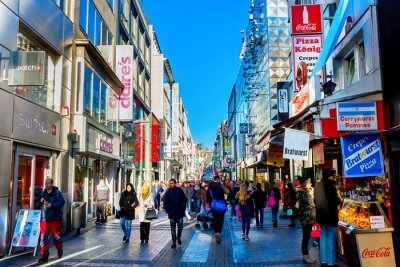 shopping in cologne