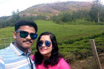 cover - Sanjiv honeymoon trip to Kerala