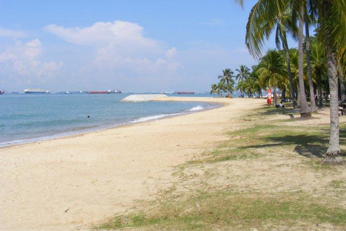 beach park in singapore