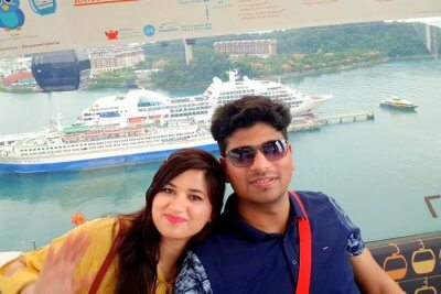 Cover - Servjeet Romantic trip to Singapore