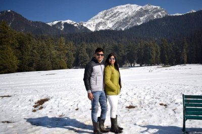 cover - Shishir romantic trip to Kashmir