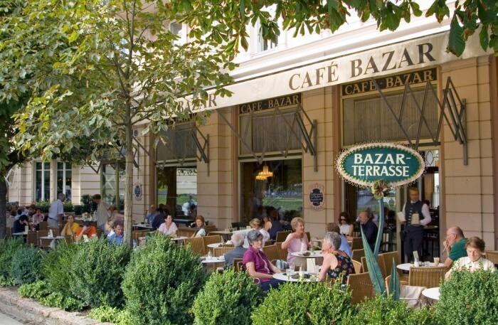 Cafe Bazar In Salzburg