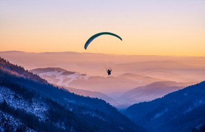 Awesome Paragliding In Gangtok