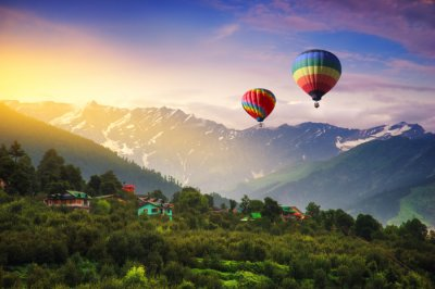 Himachal Pradesh Hot air balloon