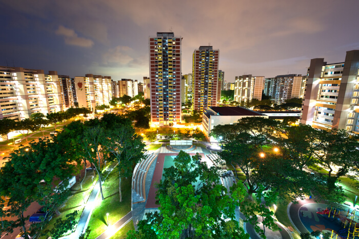 HDB Housing Colony Singapore