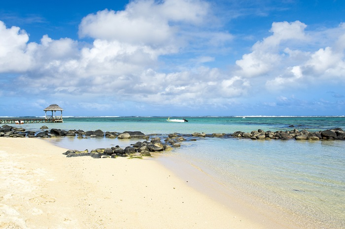 beautiful beach at Bel Ombre