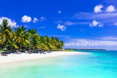 beautiful Mauritian island