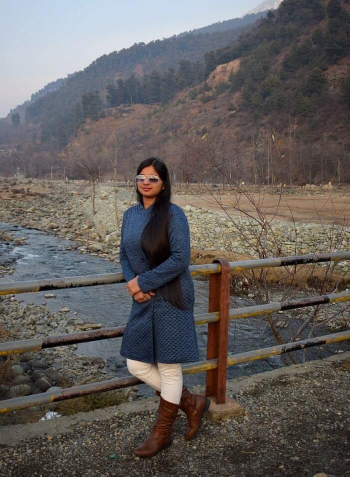proceeded towards Srinagar