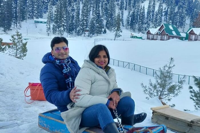 indulge in snow activities were the best experience