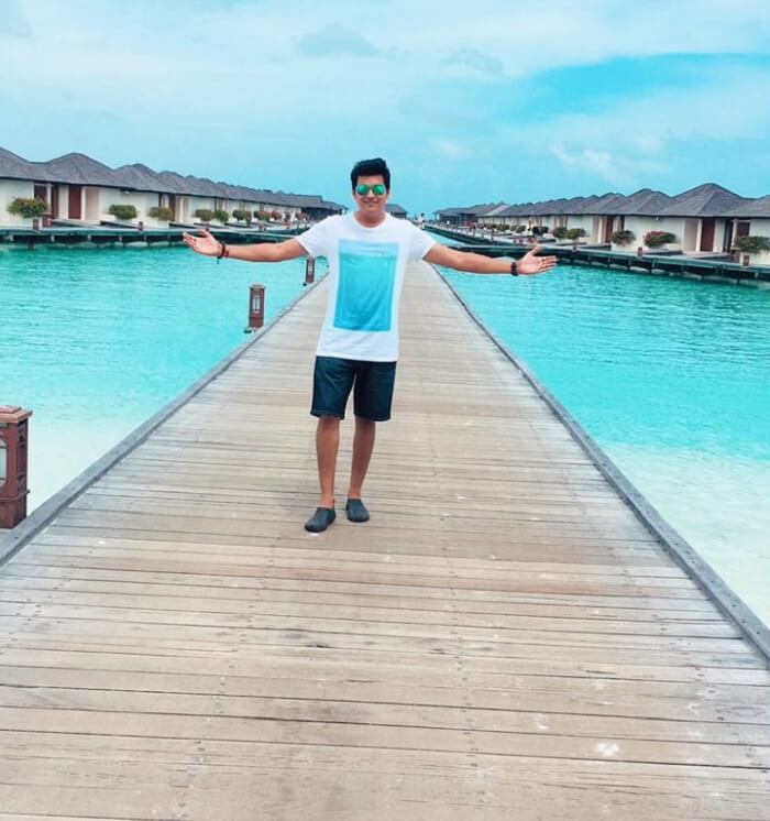 stayed at the water villa