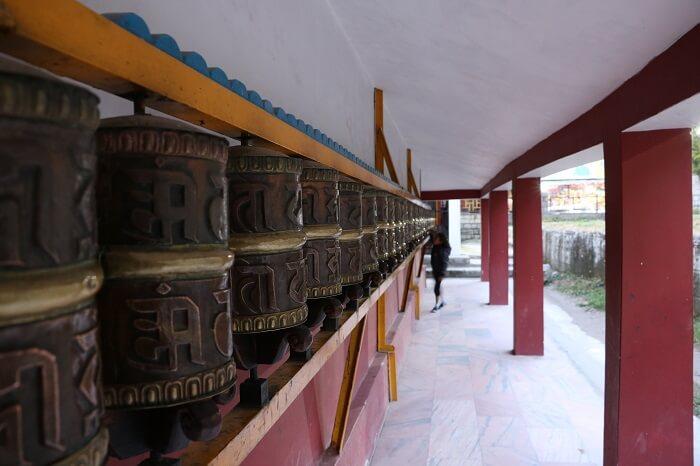 the Tibetian Monastery
