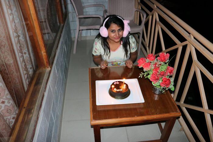 celebrating my birthday
