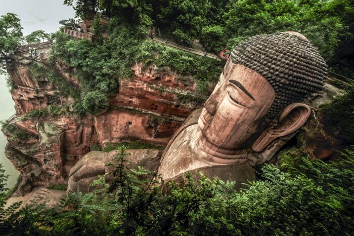Buddha's entire body